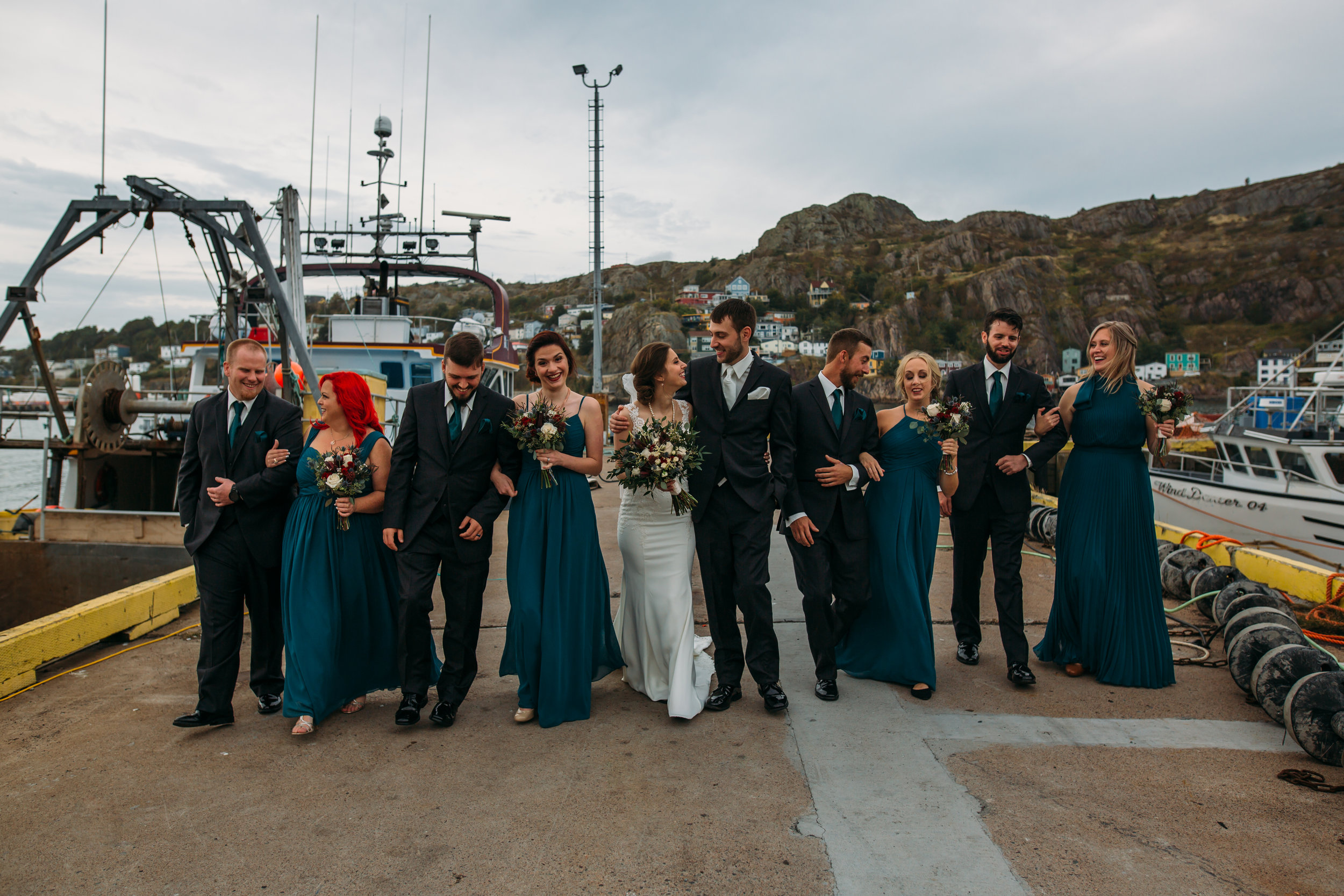 The Battery, Newfoundland wedding pictures