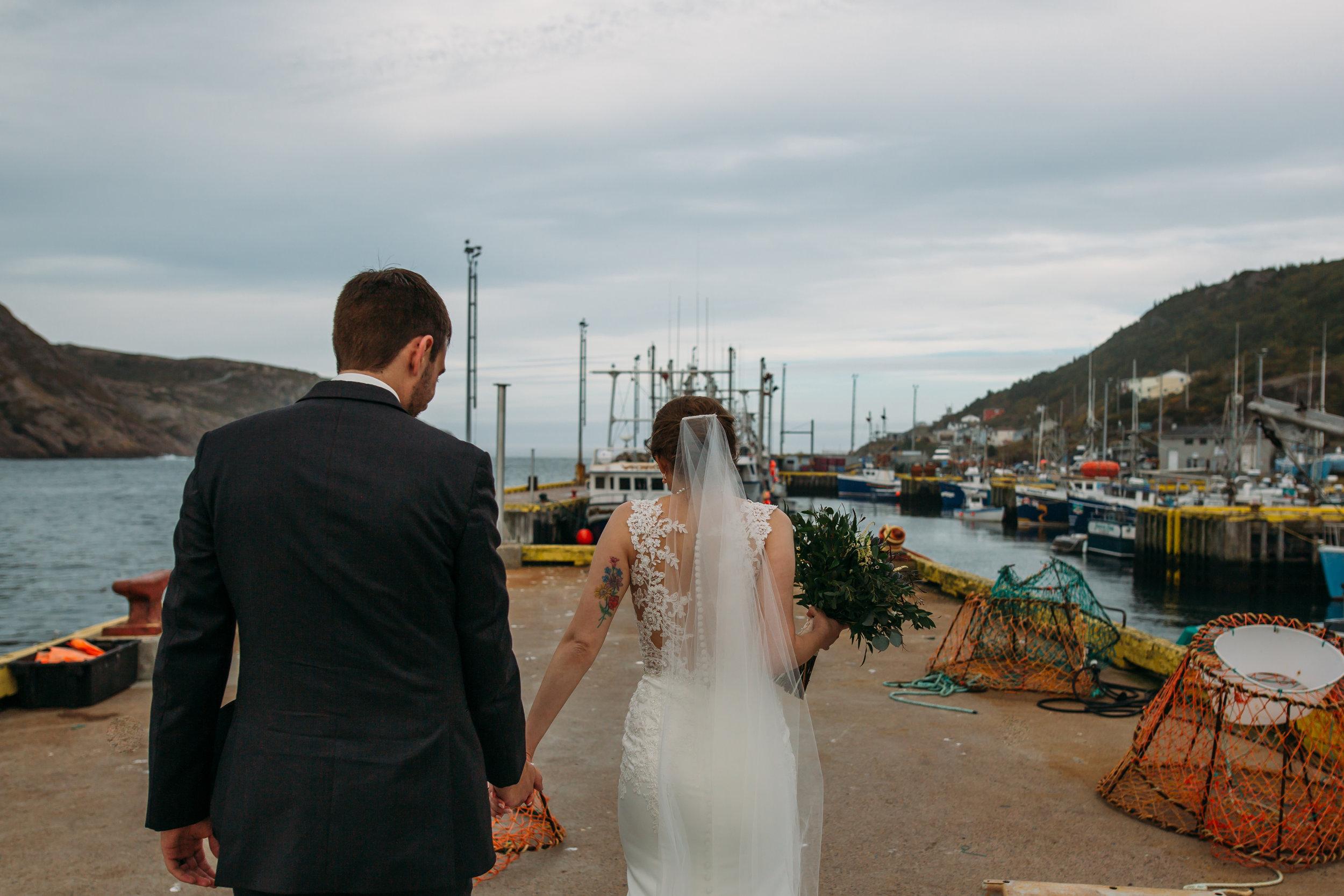 Fort Amhertst, St. John's, Newfoundland wedding photo