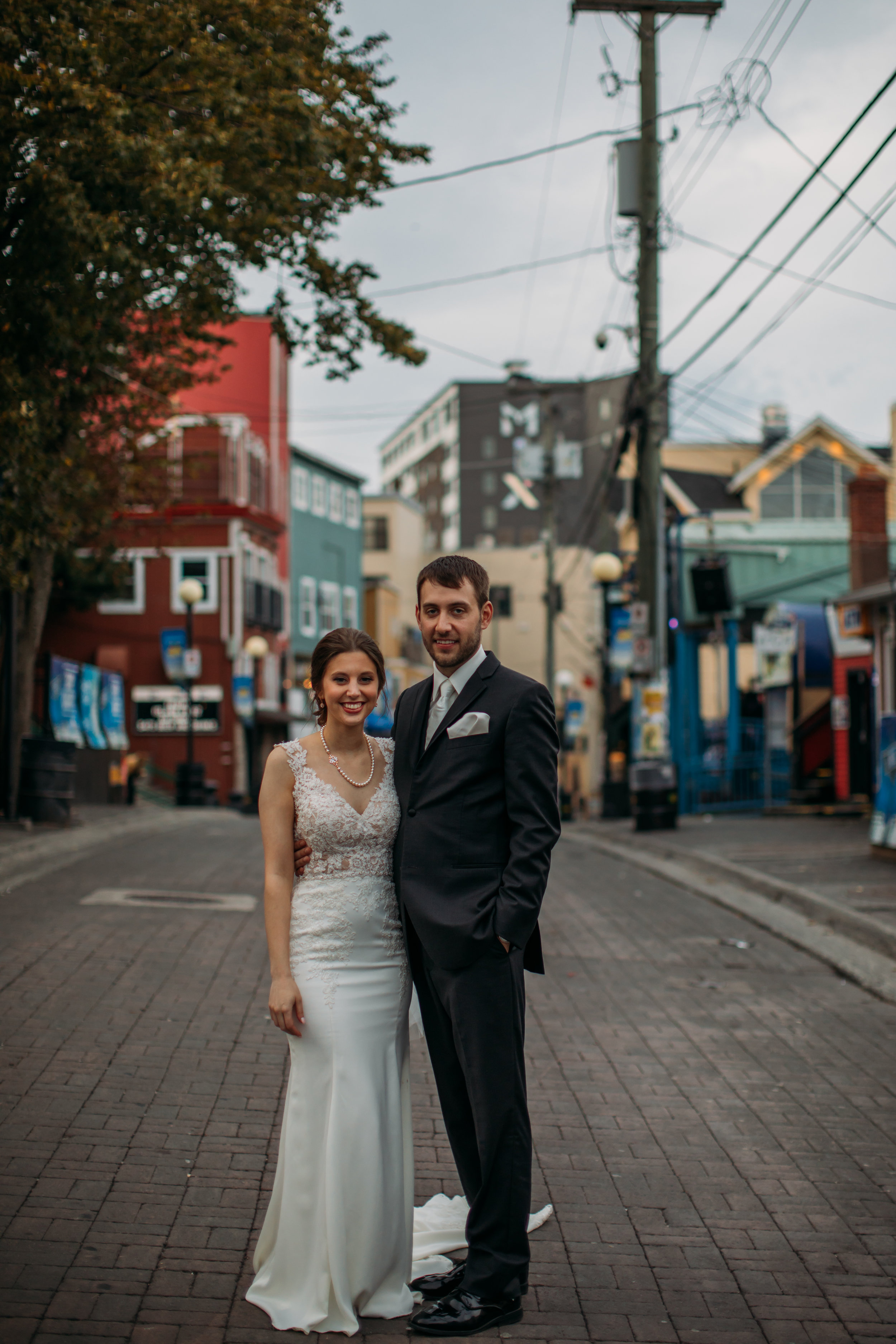 Downtown St. Johns Wedding on George Street