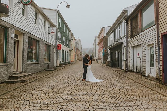 I had a couple weekends off from weddings but can't wait to capture some romantic fall weddings in the upcoming weeks. 💕 • • • #stpierreetmiquelon #yt #yytweddings #stjohnsnl #newfoundlandphotography #destinationwedding #france