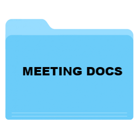 Docs - Click the blue folder for the CoCo meeting documents
