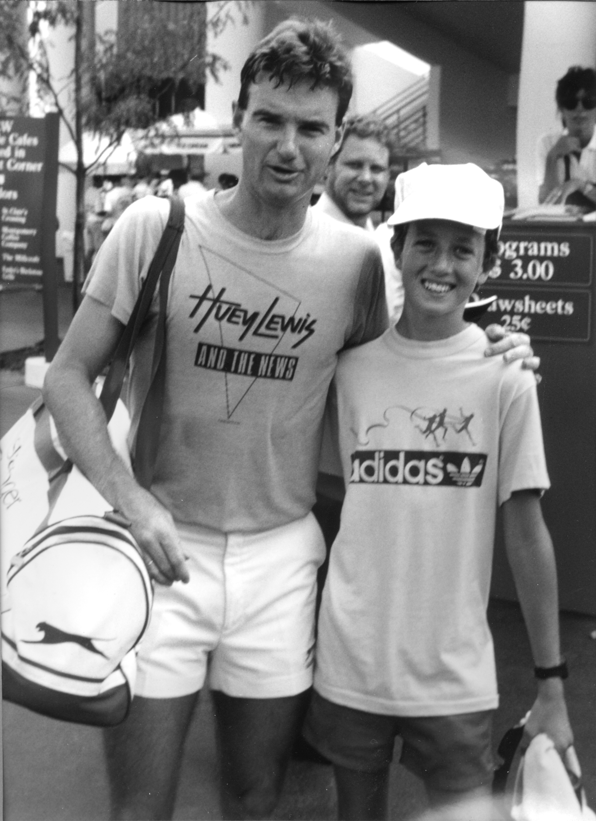 A much younger Jimmy with a much younger me. Nice hat, eh?