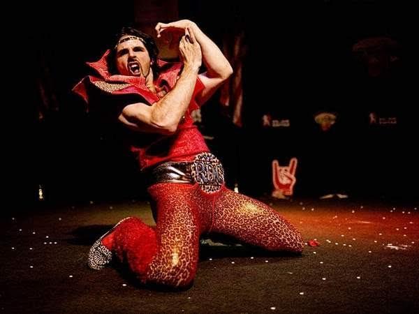 Romeo Dance Cheetah in full costume