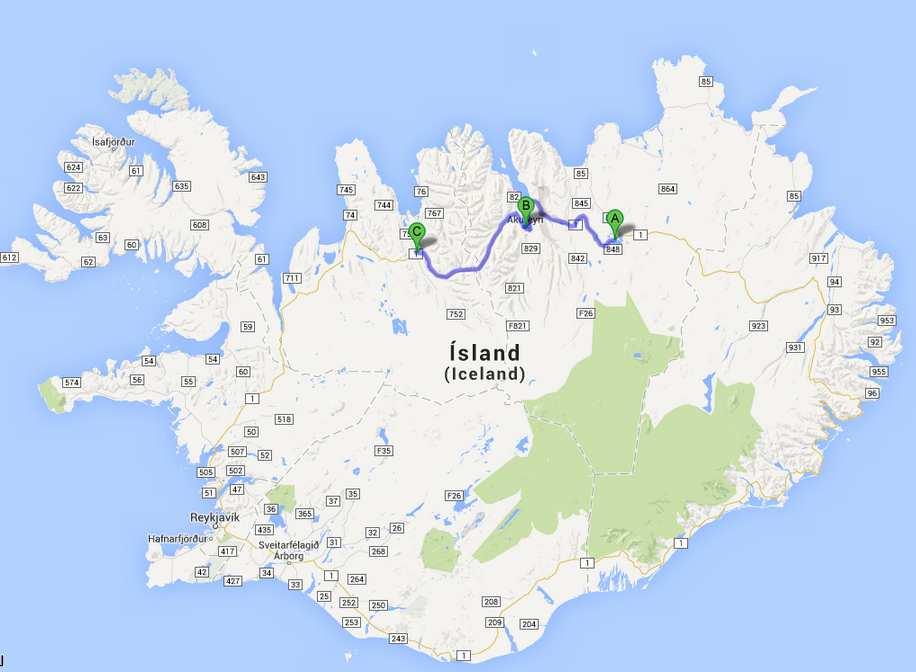 Islande-J9: Myvatn- Varmahlid