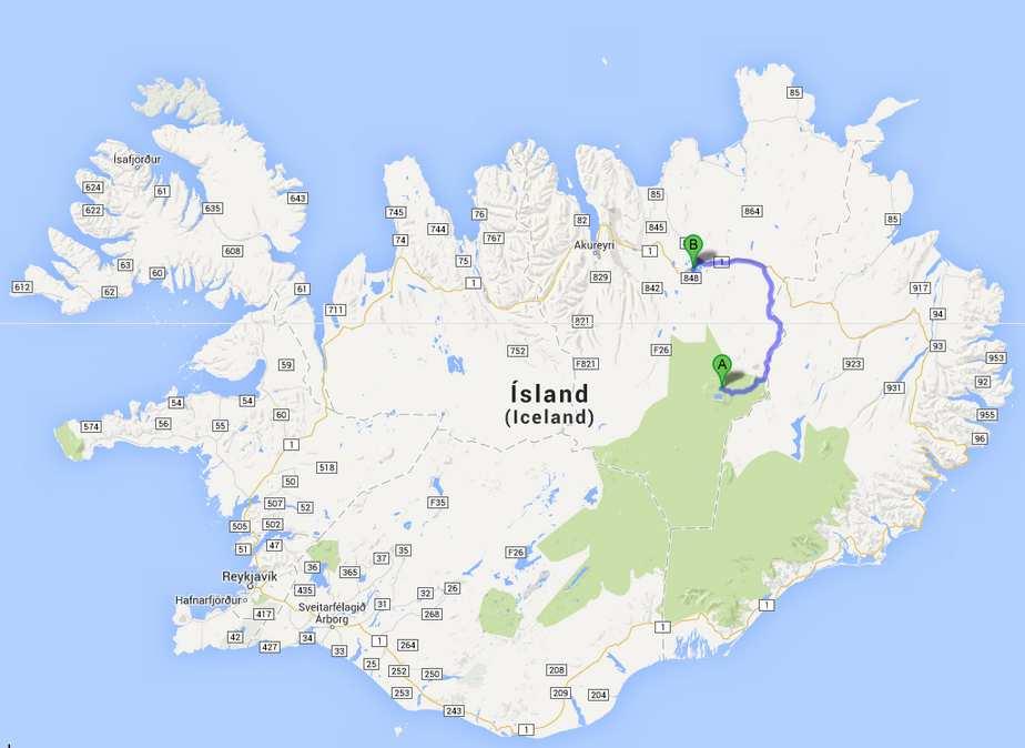 Islande-J8: Askja- Myvatn