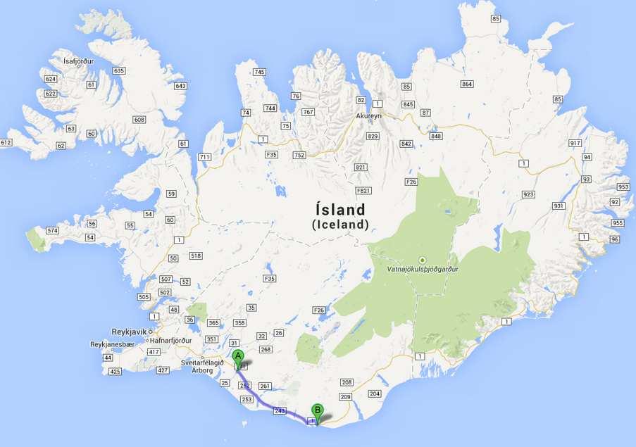 Islande-J3: Hella- Vik