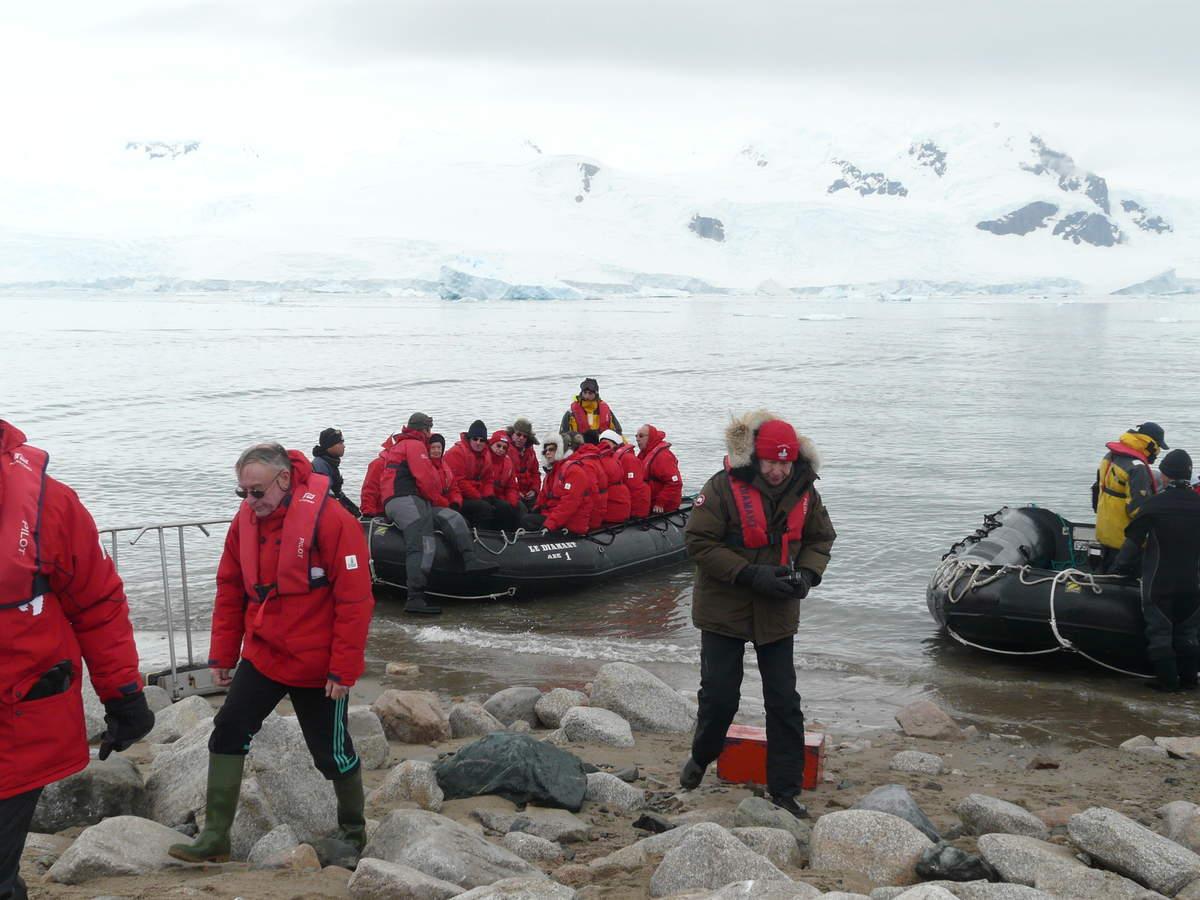 Antarctique-J8: Neko Harbor- Détroit de Gerlache