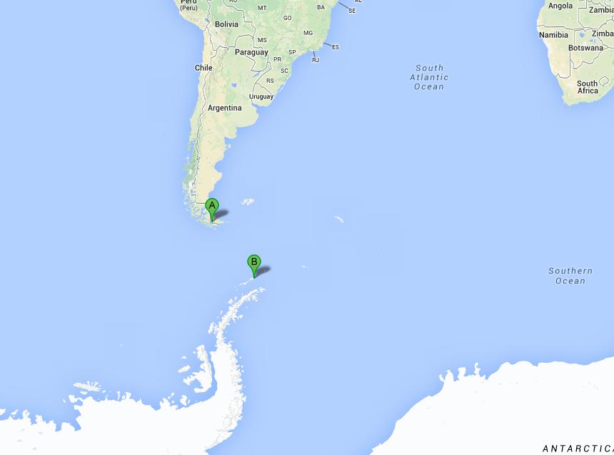 Antarctique-J3: Passage du Drake- Shetlands- Aitcho
