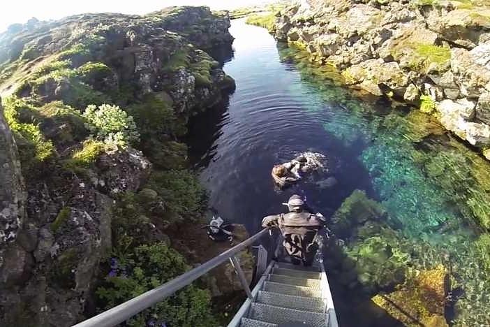 Islande-J12: Faille de sifra- blue lagoon