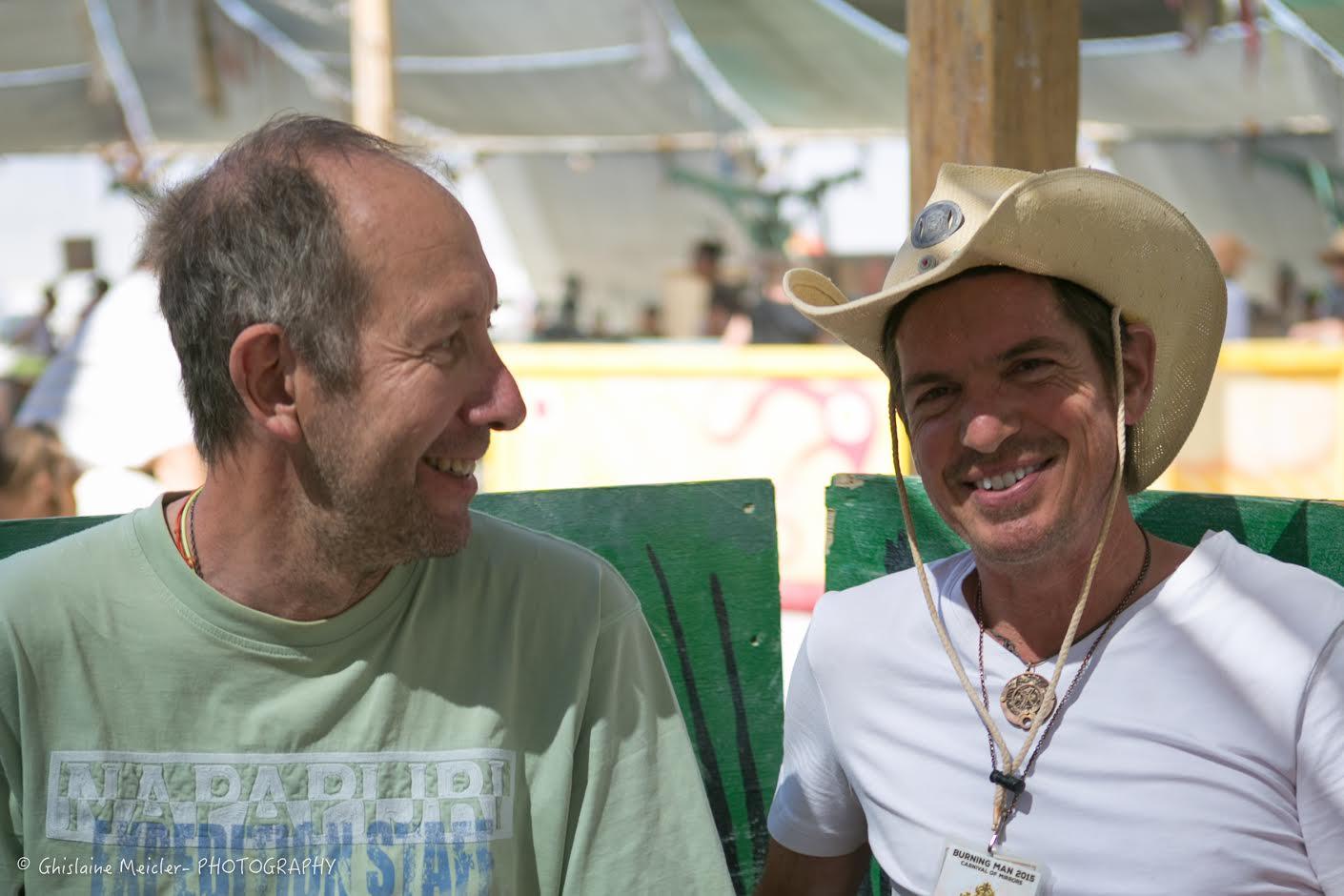 Philippe et Scott