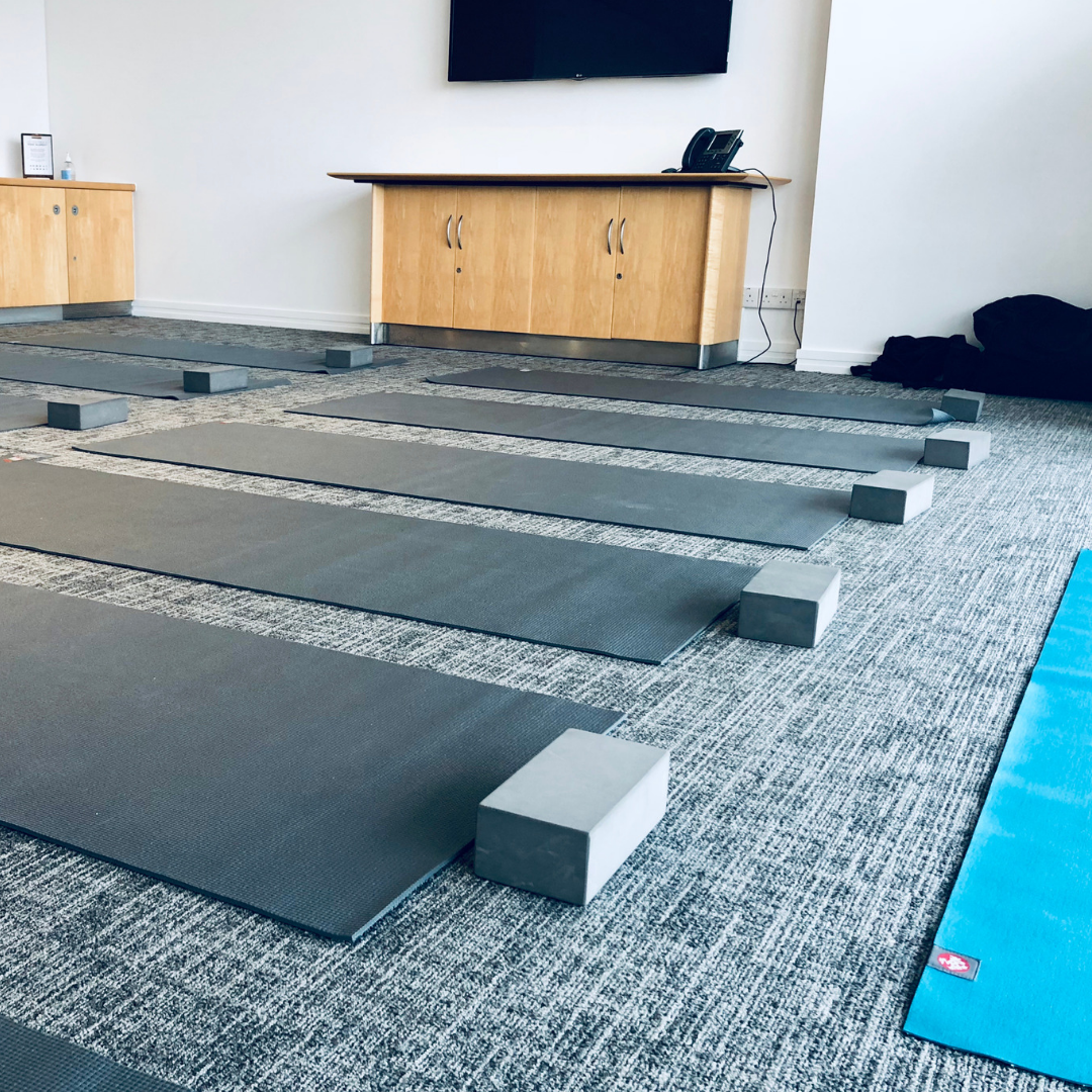 Corporate yoga in Nottingham to help stressed employees find business success