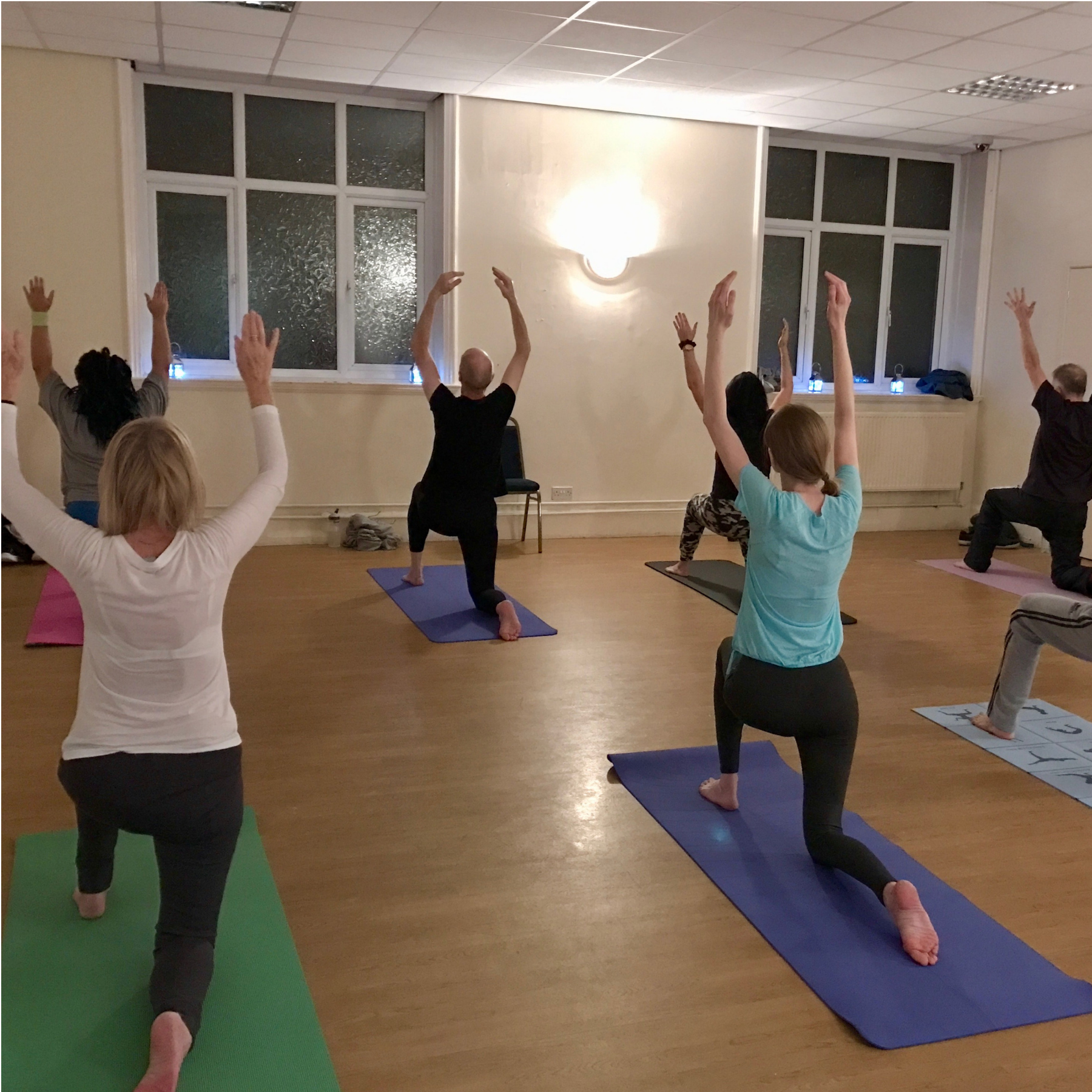 yoga can greatly help feelings of stress, low mood, anxiety and depression