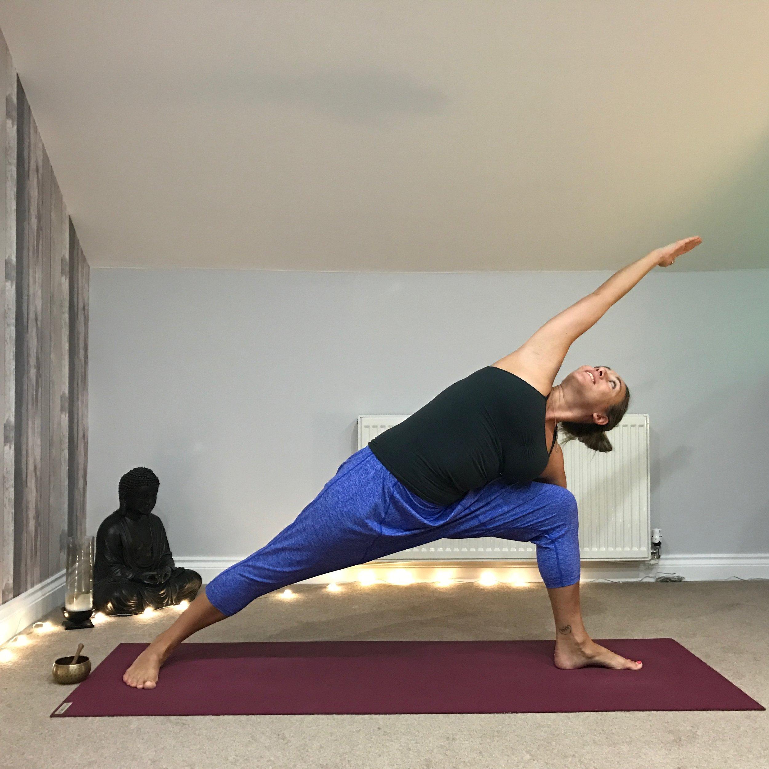 Beginning a yoga practice