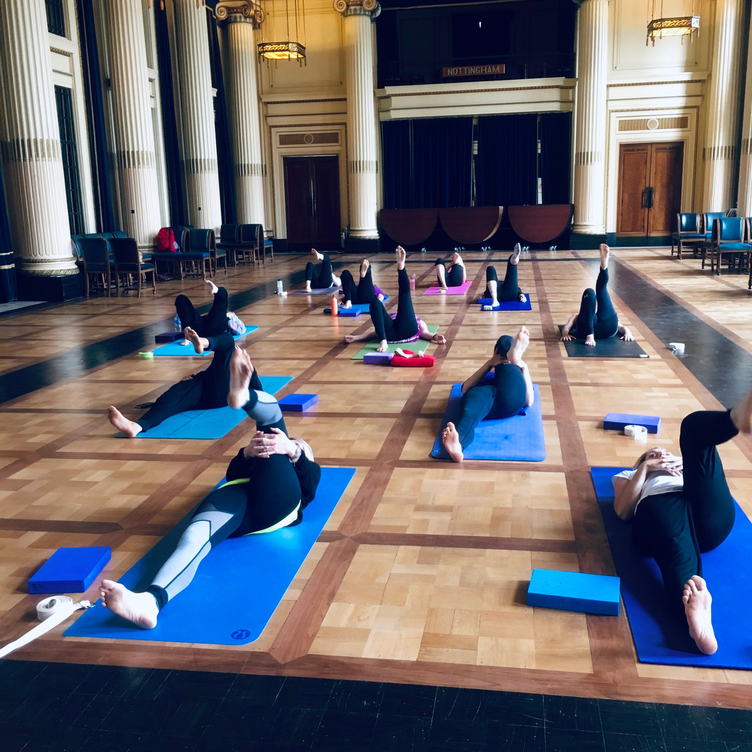 Yoga for AlNottingham City Council House - Yoga for Alzheimers Research