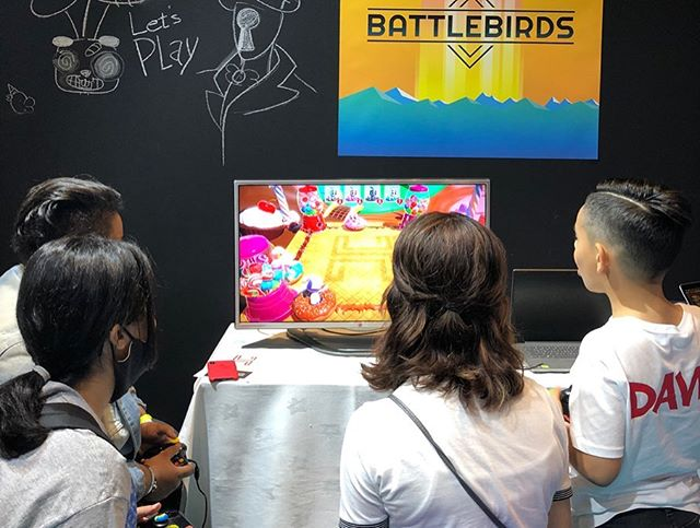 Day 2 @gamesconme  #gamescon #battlebirds #indiedev