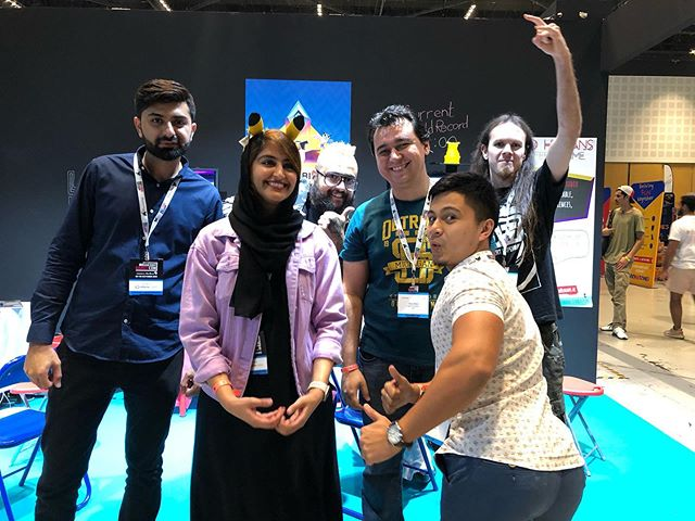 The last day! Thank you @gamesconme for yet another unforgettable event and thanks to all for coming and playing our games.  #gamesconme #battlebirds #indiedev