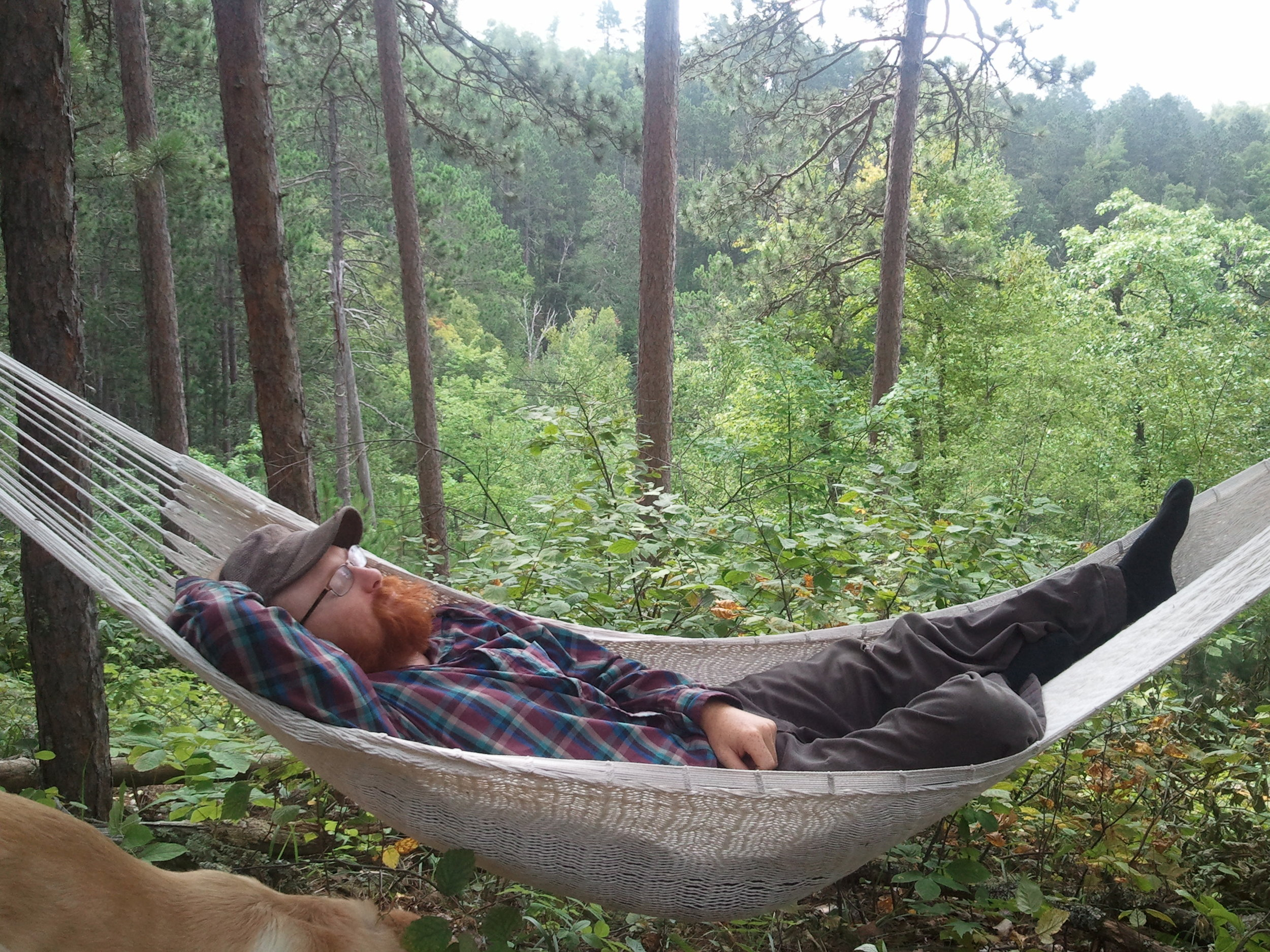 Relaxing in the Great Northwoods
