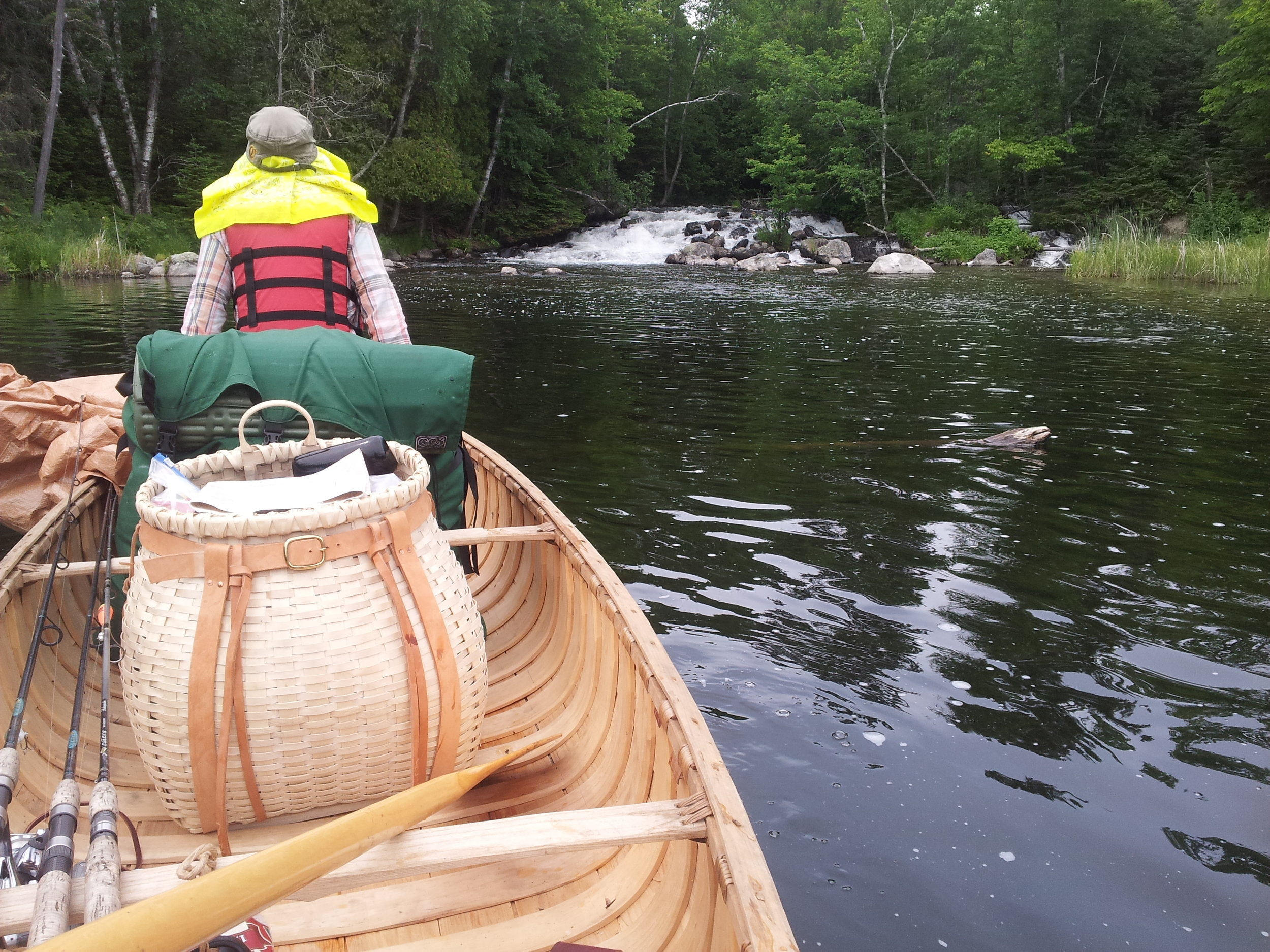 Learning the Traditional Ways of the Wilderness while traveling the BWCA in birch bark canoe is a one of a kind adventure & journey of discovery you don't want to miss!