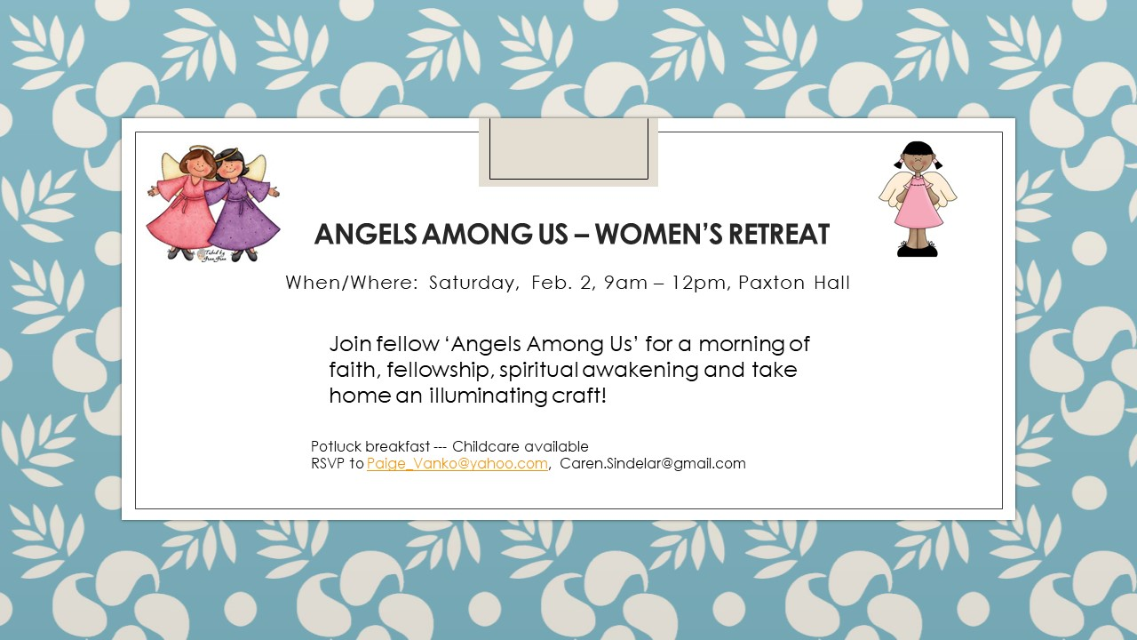 Women's Retreat on Feb 2, 2019
