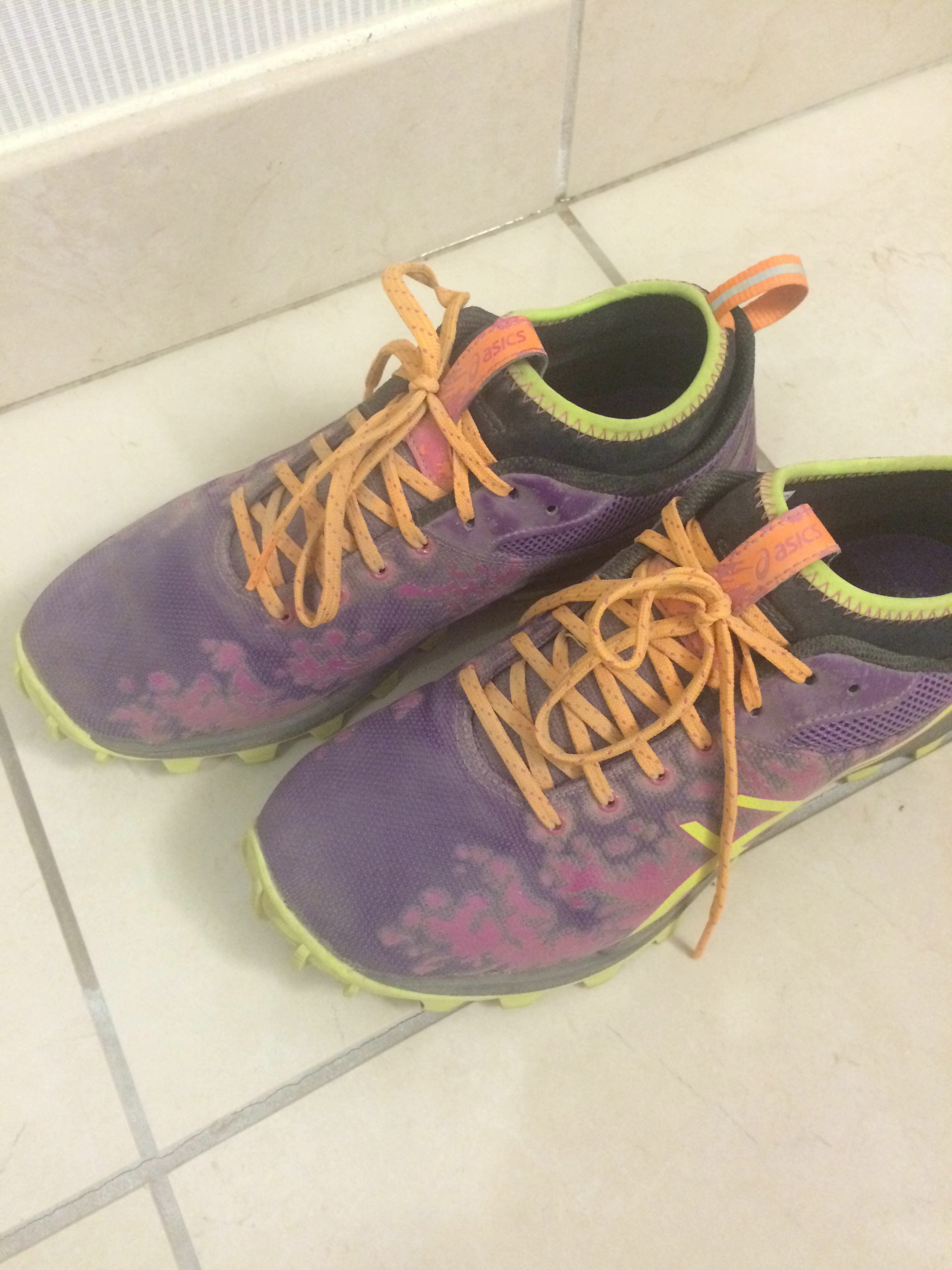 """I posted this on Instagram last summer, """"Dirty dusty trail runners. Quiet on social media for the week. Loud in the universe."""""""