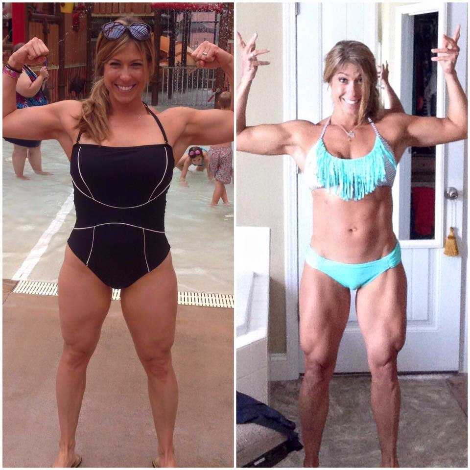 """Two months progress after Christie Nix was """"stuck"""" without change for months."""