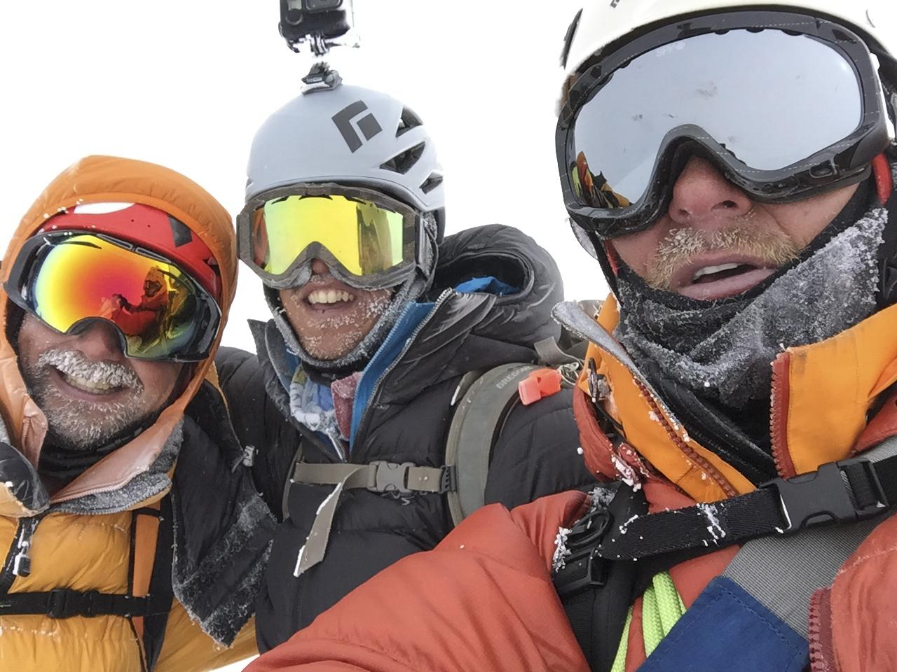 On the summit of Denali 20,310'
