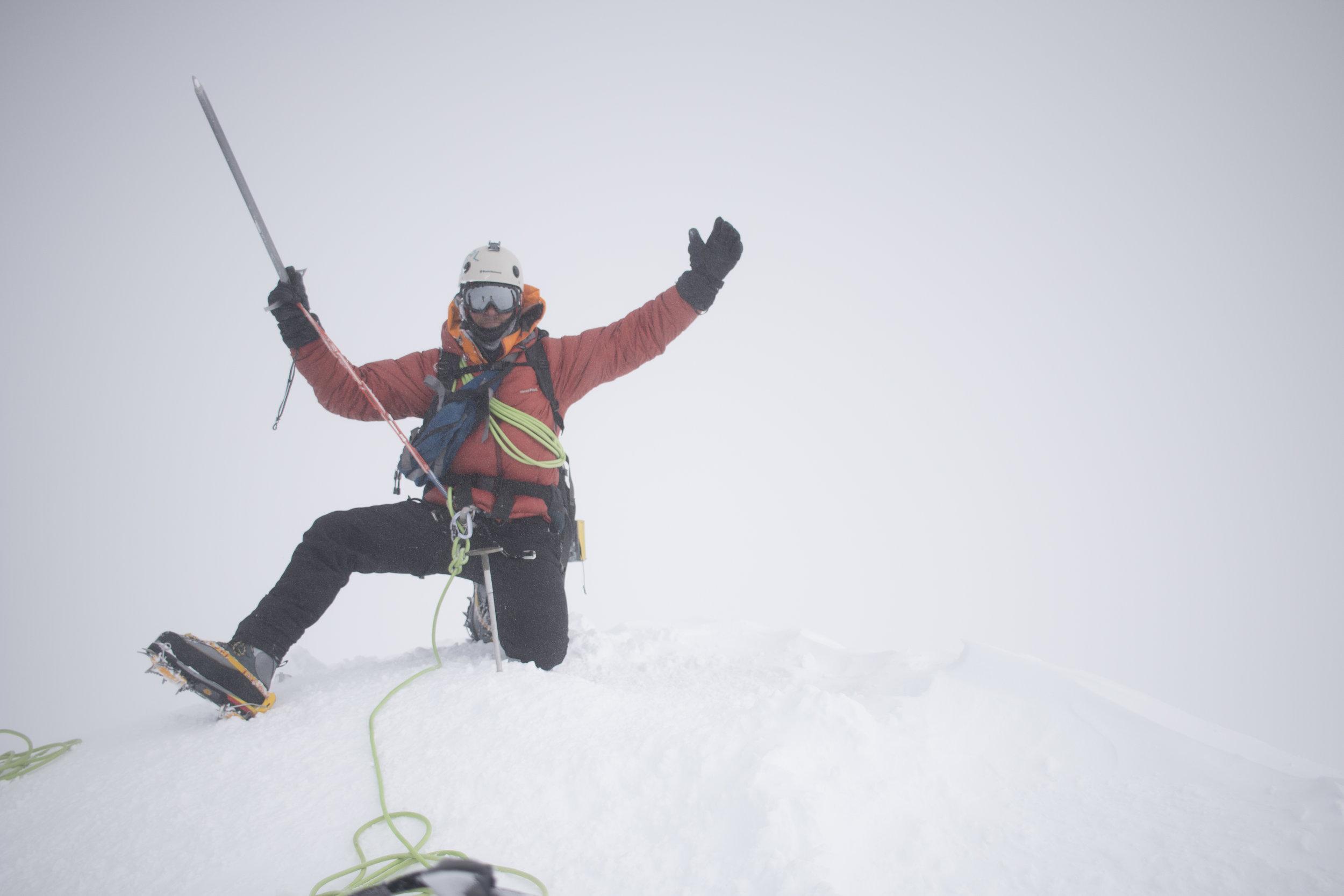Me on the summit.