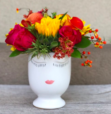 """Selfie Vase"" from Charleston Flower Market (example shown)"