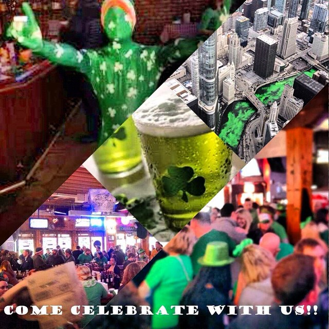 Are you guys ready???? #chicago #party #beer #green #stpatricks #motherhubbrds #fun #barlife