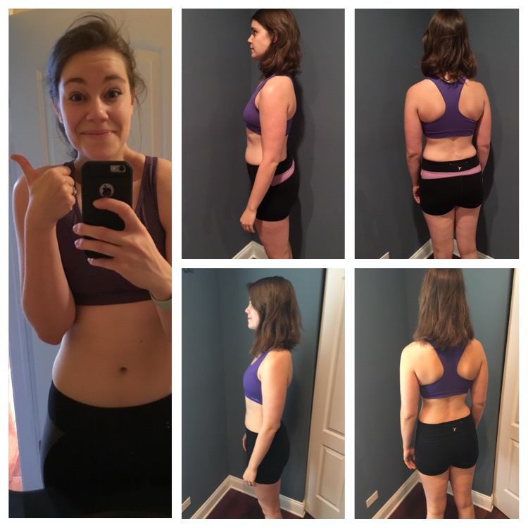 Btw, the 21 day fix works!! I was on my way but it was just the beginning ;)