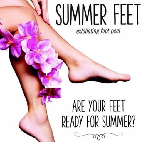 Now is the time to get your feet ready for sandal weather. This exfoliating foot peel will slough away dry skin and calluses to reveal baby soft feet.