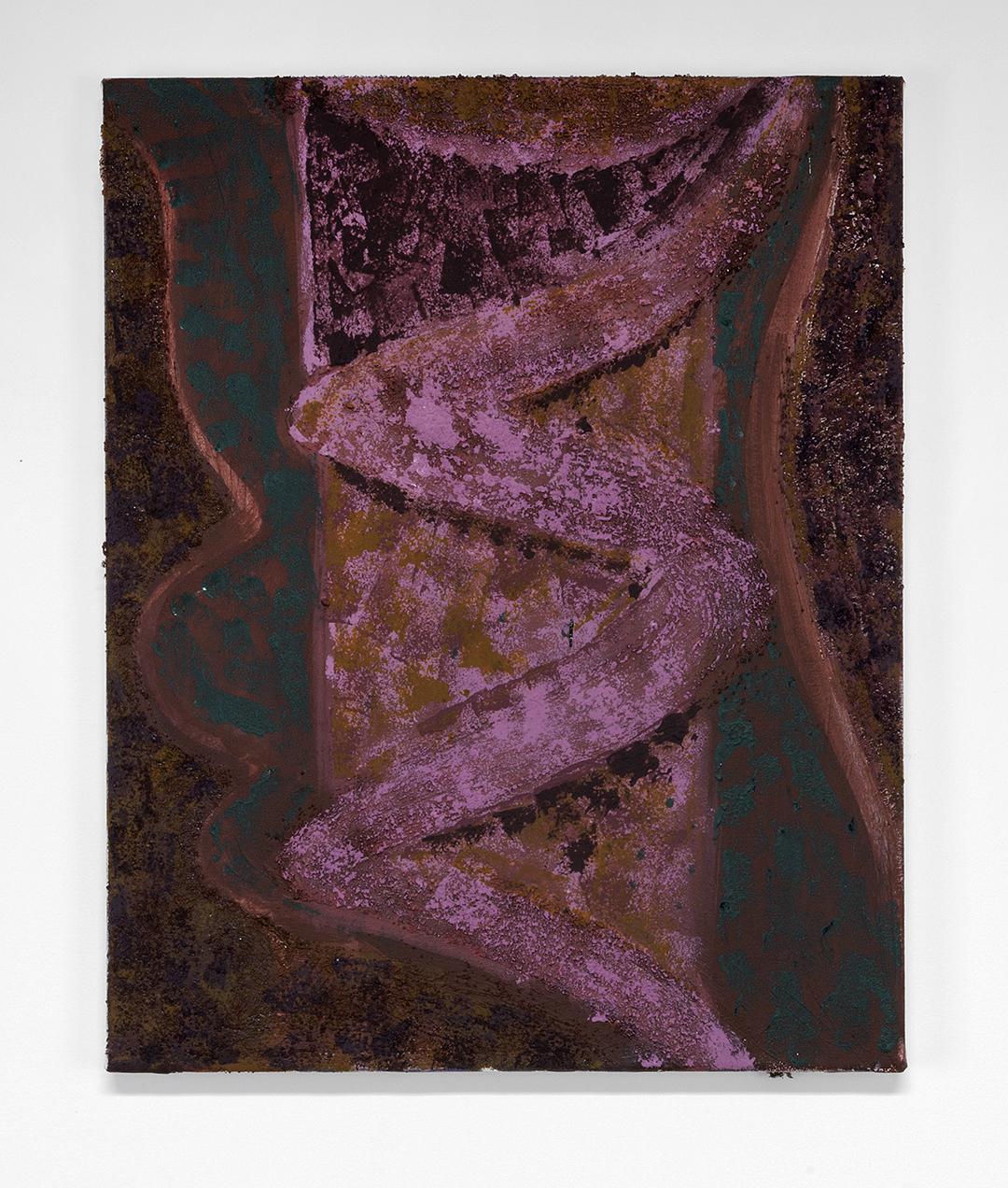 isaac11-acrylic, sand, chalk on canvas, 2014, 20x24.jpg