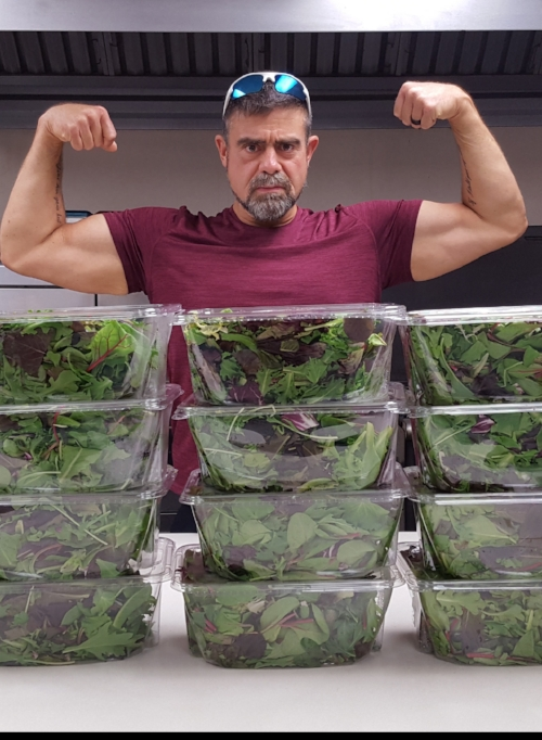 Turns out you can build muscle eating nothing but plants!