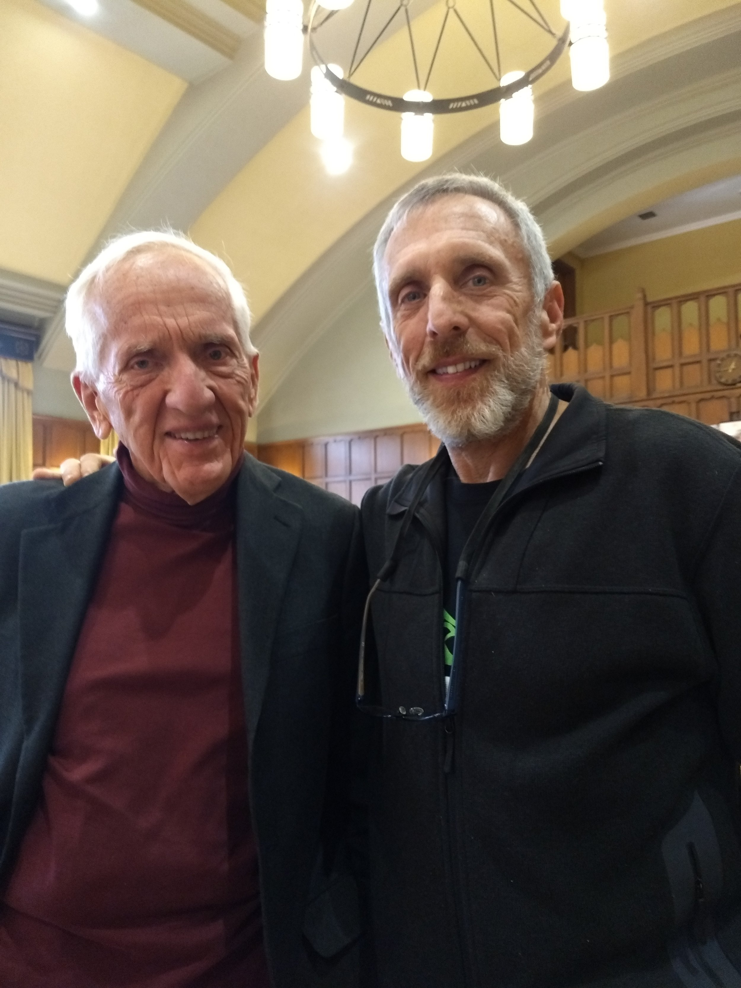 Paul and Dr T. Colin Campbell (Author of The China Study)