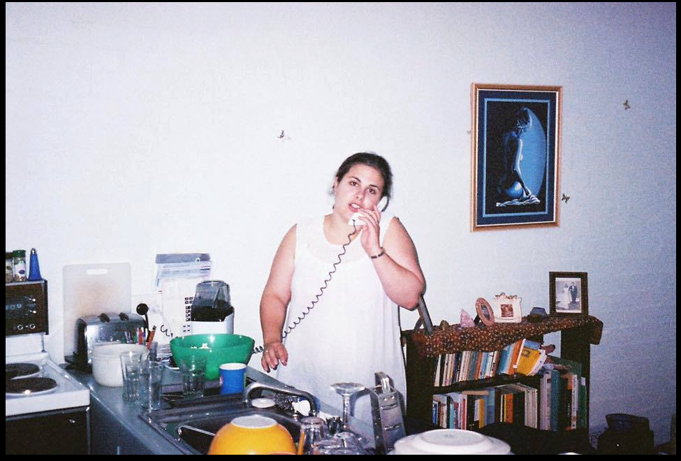 Corinne Nijjer (me) in 2000