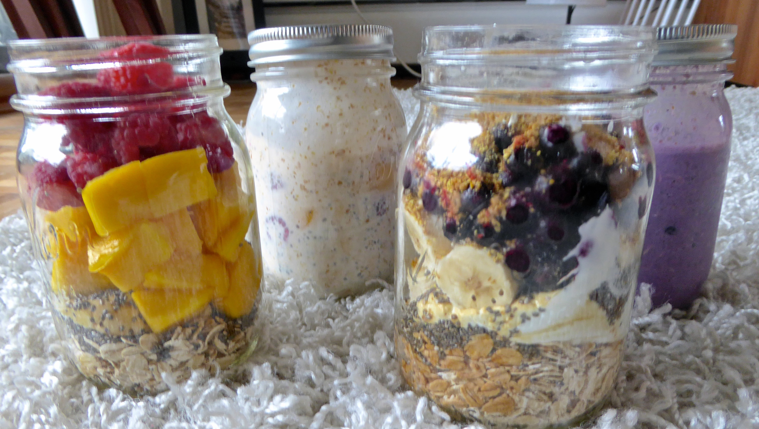 Overnight Oats Flavours