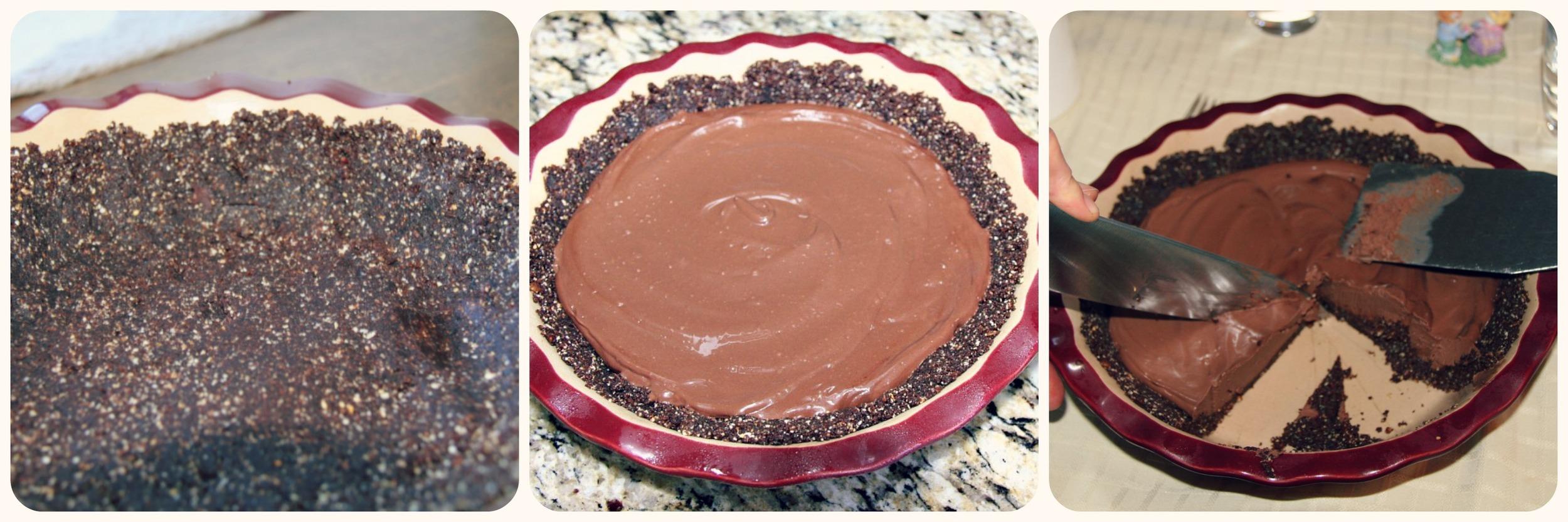 Silky Chocolate Pie 3