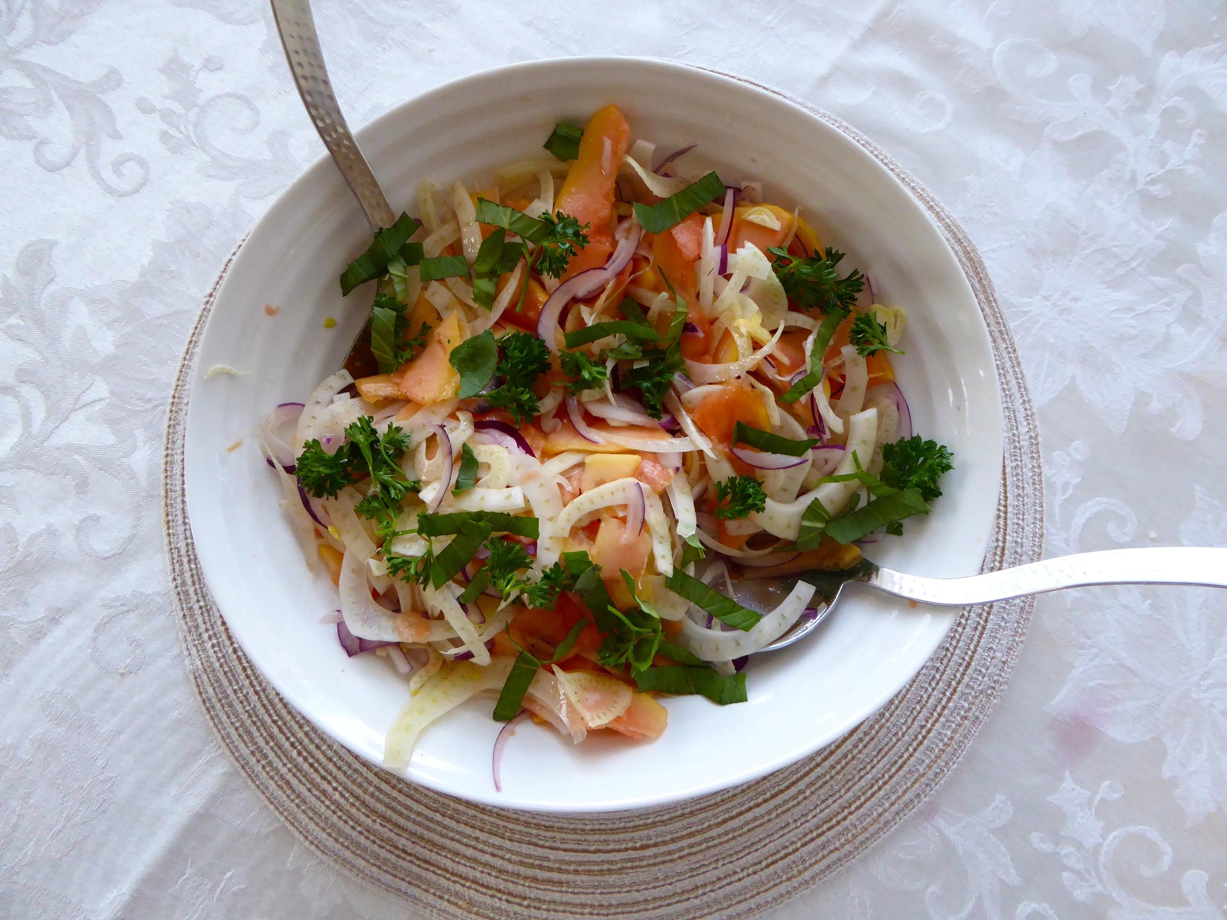 Thai Papaya Salad 2