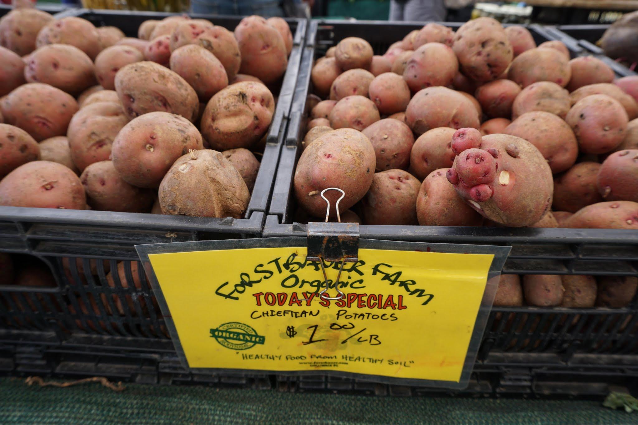 Chieftan potatoes