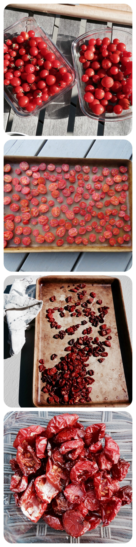 Sundried tomatoes steps