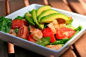 A healthy low carb meal. Image credit: Flikr