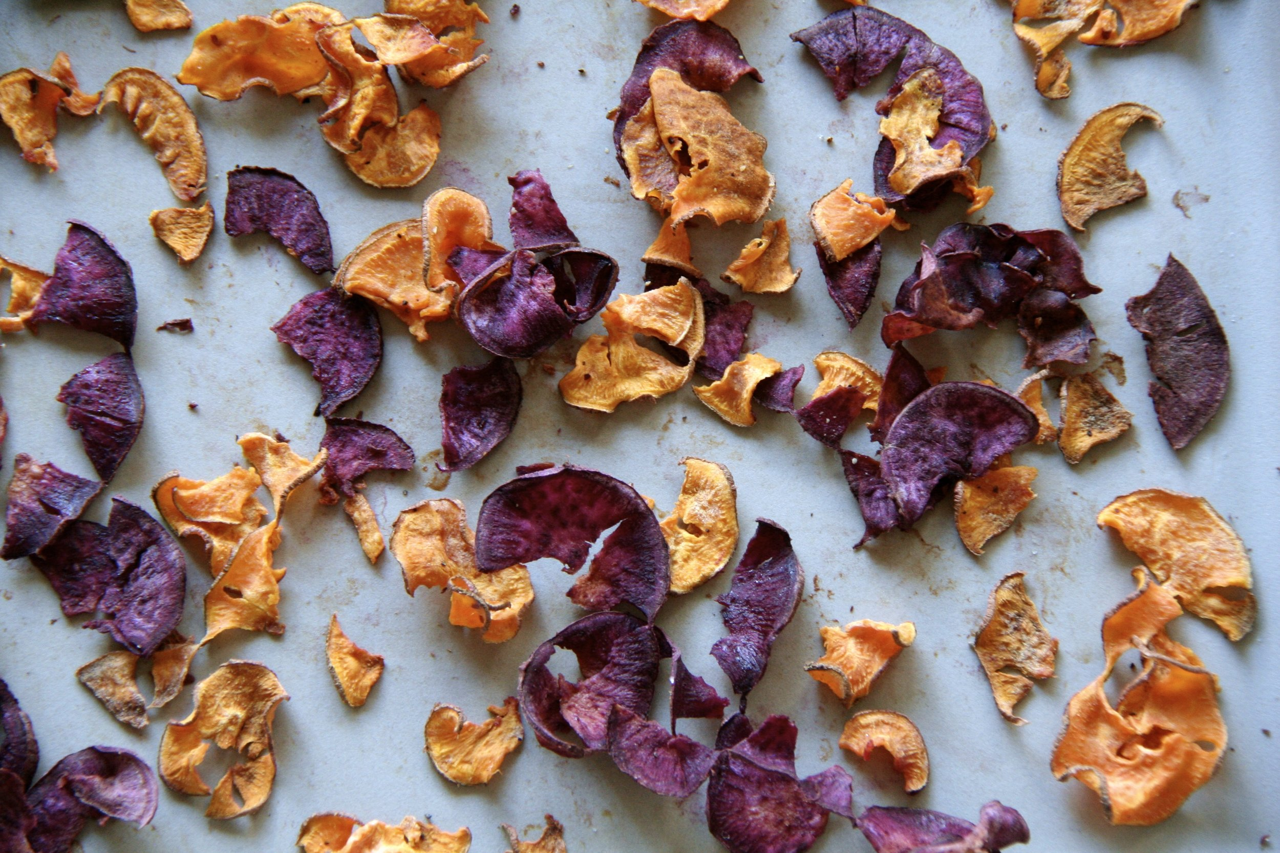 Sweet Potato Chips 5