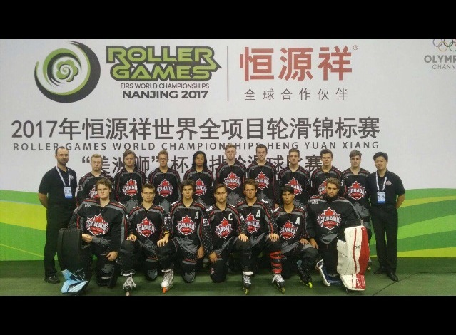 Photo addition, Canada Inline, Team Canada Junior Men