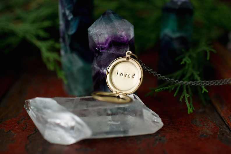 secret message locket