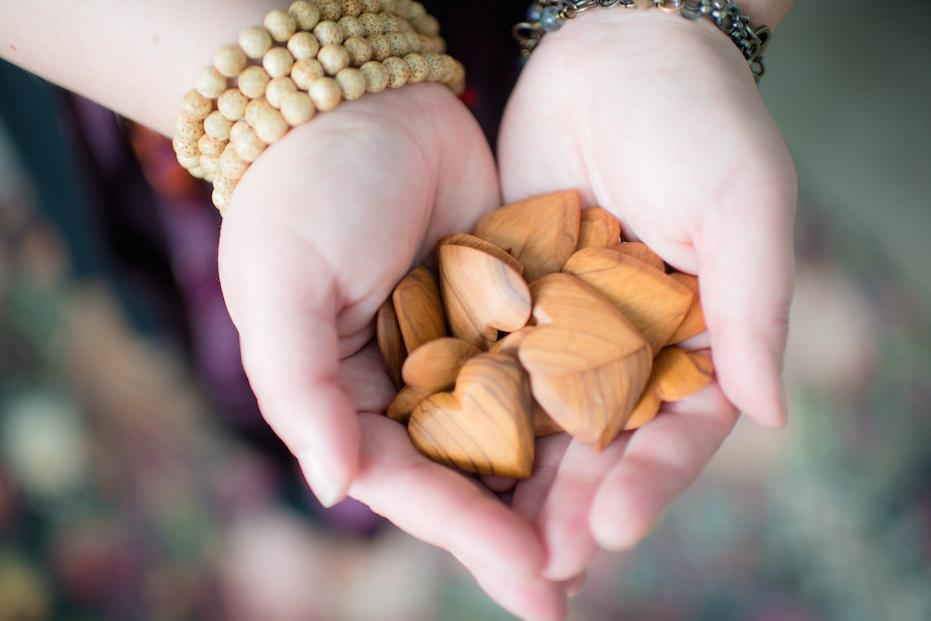 olivewood hearts