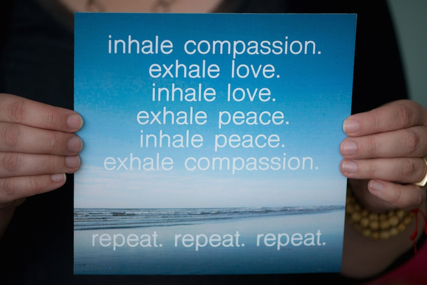 inhale love. exhale peace.