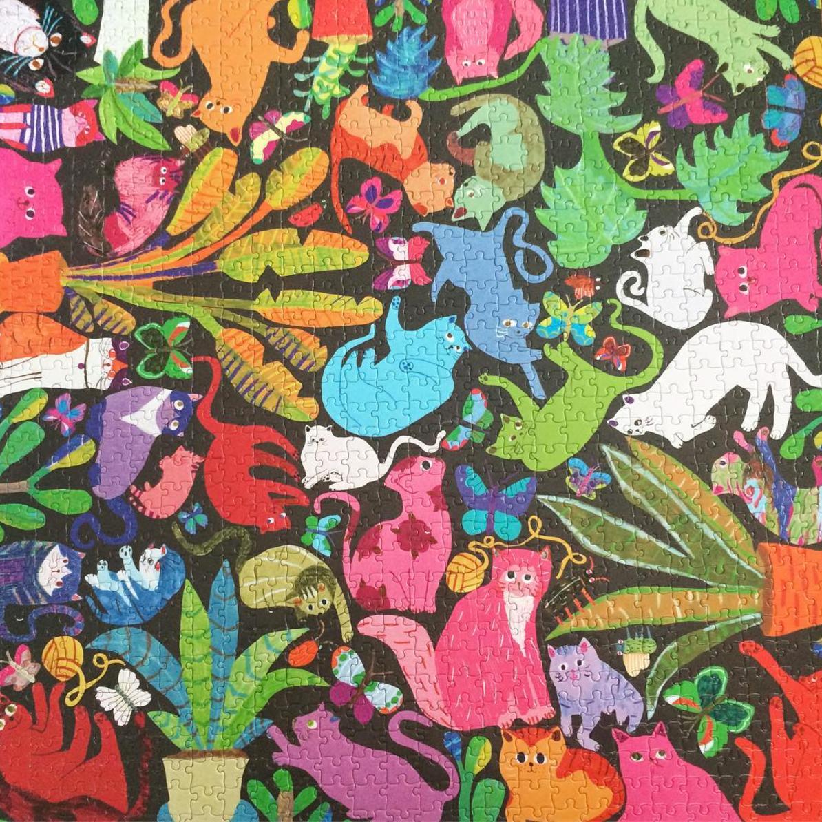 eeboo cats puzzle