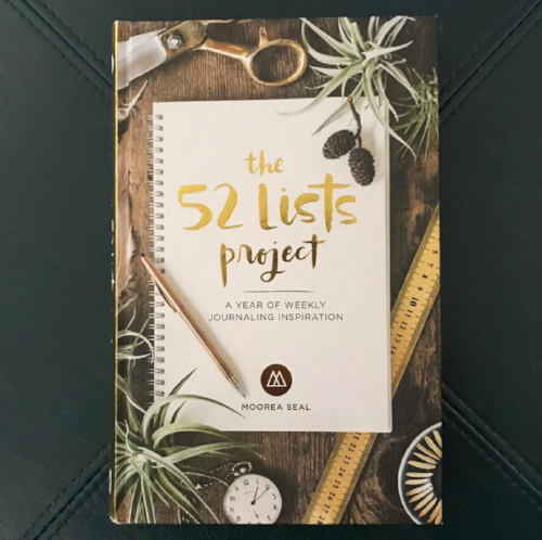 52 lists project cover
