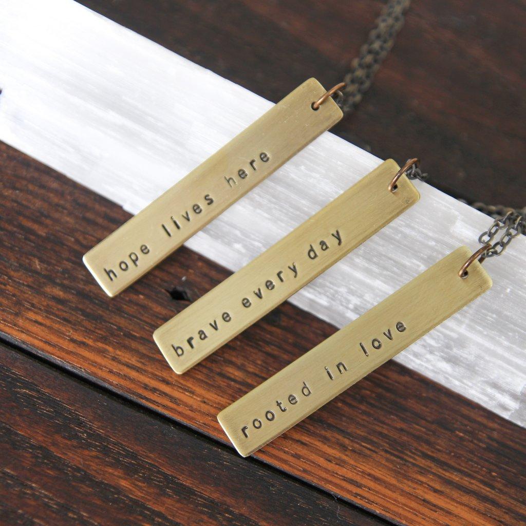 Soul Mantras necklaces