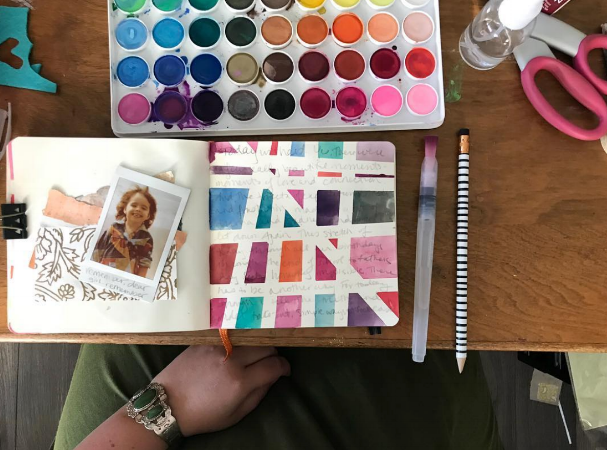 100 day page with paints.png